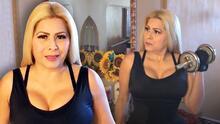 """Carmen Jara soltó las mancuernas porque está """"triste"""" y """"angustiada"""", aunque haciendo """"cosas productivas"""""""