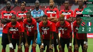 Martinica se sobrepuso un 2-0 y sacó un punto de Trinidad y Tobago