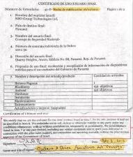 Contrato del gobierno de Panamá con NSO Group Technologies Ltd.