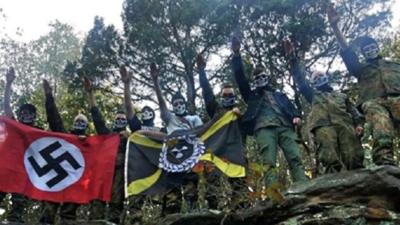 Atomwaffen, el grupo paramilitar neonazi vinculado con la muerte de estudiante en California