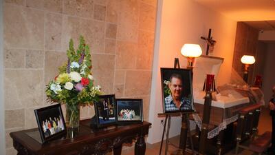Luto por la muerte del comediante Tino García