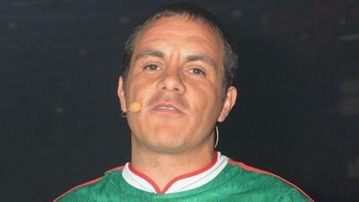 Cuauhtémoc Blanco está dispuesto a contar su historia en la televisión
