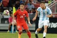 Argentina destroza a Singapur sin recurrir a Messi