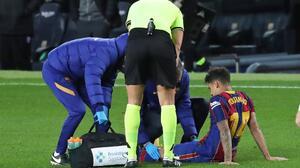 Philippe Coutinho es operado con éxito de la rodilla izquierda