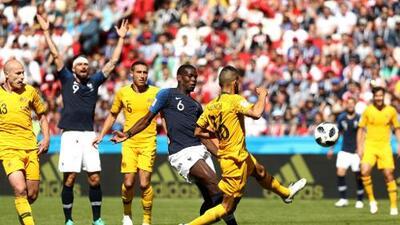 FIFA le quita el segundo gol de Francia a Pogba