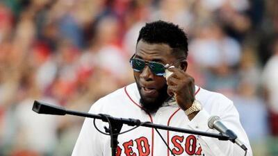 David Ortiz deja hospital en Boston