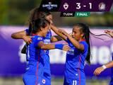 Cruz Azul sigue invicto y ahora vence al Atlético de San Luis en la Liga MX Femenil