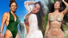 Chiquis, JLo, Kim Kardashian y otras 9 famosas que adelantaron a enero su verano