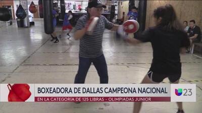 Boxeadora de Dallas es campeona nacional