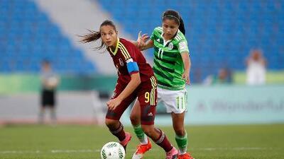 México cae 2-1 con Venezuela y queda eliminado de Mundial Sub 17 Femenil