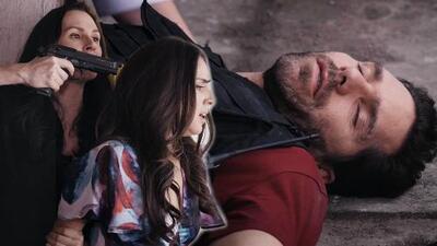 Paulina fue rescatada de su secuestro, pero Facundo terminó herido