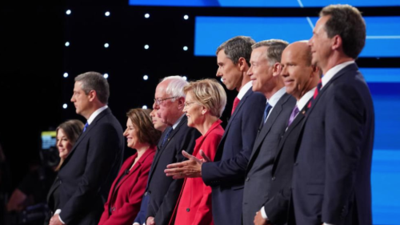 Frases memorables y candidatos que sorprenden: lo más destacado del segundo debate presidencial demócrata