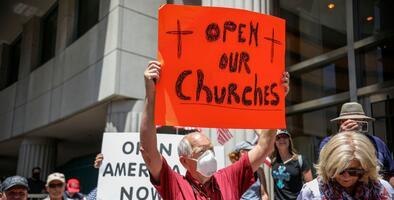 Algunas iglesias desafían al gobernador de California y dicen que reabrirán el 31 de mayo