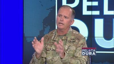 """""""Si usted no puede ir a combate, deja de ser relevante"""", afirma el general José Reyes sobre la necesidad de cambios en la Guardia Nacional"""