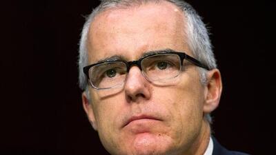 Fiscal general despide al saliente subdirector del FBI, Andrew McCabe, a pocas horas de su retiro