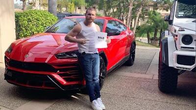 'Canelo' se compra la camioneta más rápida del mundo, la Lamborghini Urus