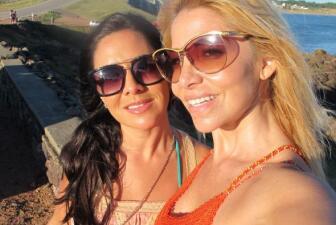 Roxy de vacaciones un Punta del Este