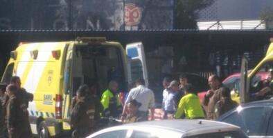 Aficionados de la U de Chile resultan heridos de bala durante un entrenamiento