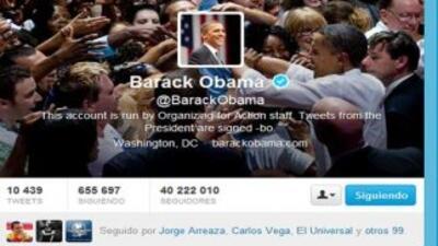 Barack Obama sigue a actrices porno en su cuenta de Twitter