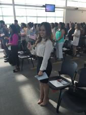 ¡Felicidades a Lore, se convirtió en ciudadana de los Estados Unidos!
