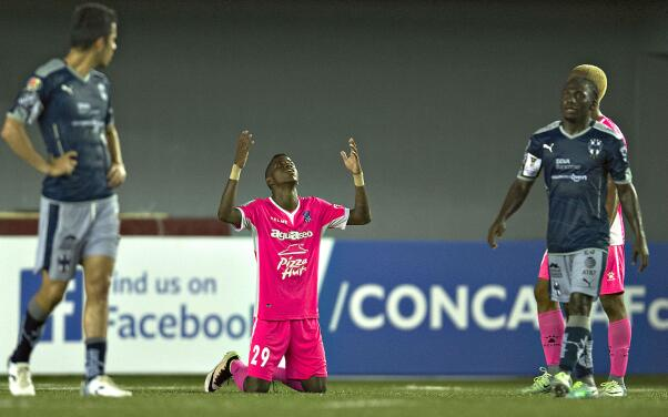 Árabe Unido derrotó y eliminó a Monterrey de la Liga de Campeones