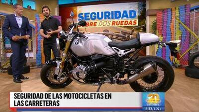 Consejos de seguridad para motocicletas en la carretera