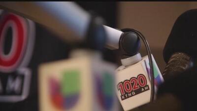 Univision lanzó oficialmente su nueva programación en la estación 1020-AM
