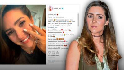 Ariadne Díaz publica esta foto y un beso, y de inmediato lanza un aviso a los malpensados
