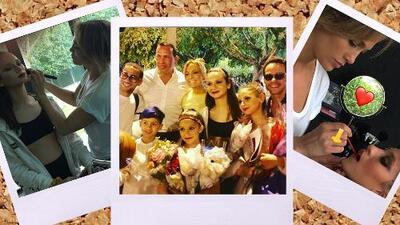 Los hombres de JLo juntos por la familia: así A-Rod y Marc Anthony se unieron para apoyar a sus hijas