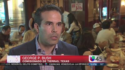 Hijo de Jeb Bush asistió a evento en Houston para apoyar a su padre
