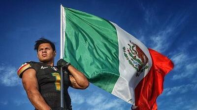 Máximo González, primer mexicano en el Programa Internacional de Jugadores de la NFL