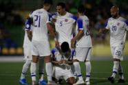 Costa Rica por fin ganó 1-2 a Curazao con goles de Venegas y Calvo; Janga descontó para los locales.