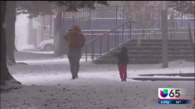 Clases canceladas por la tormenta invernal