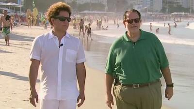Raúl de Molina se fue de paseo en Brasil con el famoso pintor Romero Britto