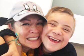 Leticia Calderón se llevó un susto, su hijo Luciano otra vez estuvo en el hospital