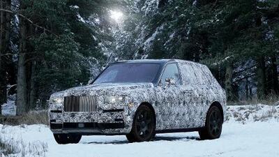 Esta es la Rolls-Royce Cullinan, la primera SUV de lujo de la marca inglesa