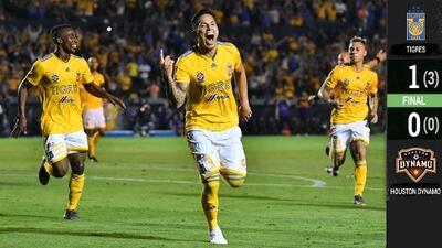 Tigres liquidó la eliminatoria con gol de Salcedo y ya está en 'Semis'