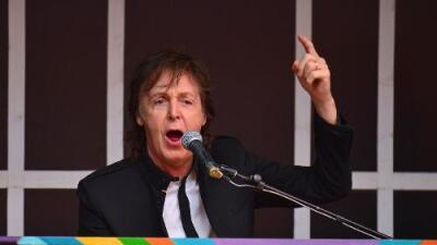 PAUL McCARTNEY KICKS OFF U.S. TOUR TONIGHT IN MIAMI