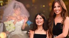 La confección del vestido para los XV de la hija de Thalía está en pausa por la pandemia, admite Mitzy