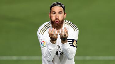 Sergio Ramos cumple 500 partidos en LaLiga
