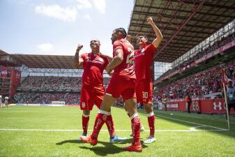 En fotos: Los diablos de Toluca superan con dos goles a los Xolos de Tijuana