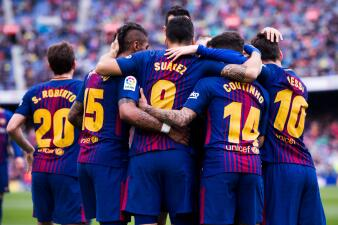 En fotos: Barcelona respondió a la eliminación de Champions con triunfo ante el Valencia