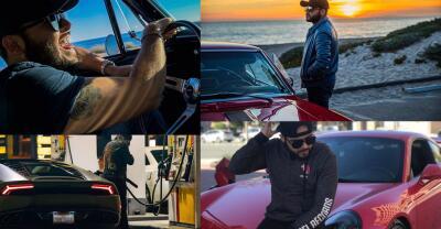 Esta es la colección de autos de Gerardo Ortiz
