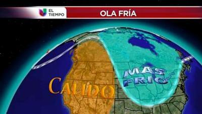 Las temperaturas invernales que vienen la próxima semana