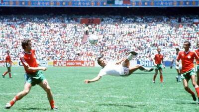 Manuel Negrete se perfila para conquistar el premio del 'mejor gol en mundiales'