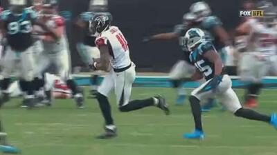 Julio Jones, lo único destacado que le queda a los Falcons para presumir