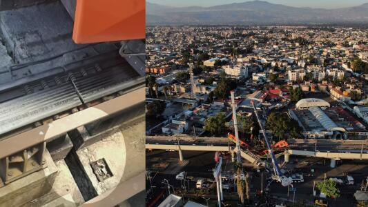 """""""¿Cuántos más tienen que morir?"""": advierten que otros sectores del metro de Ciudad de México tienen fallas"""