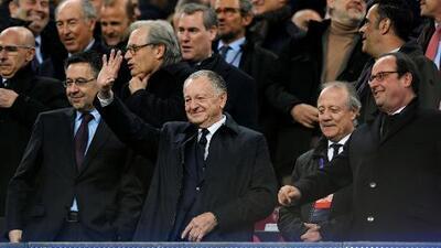 """Presidente del Lyon: """"Si Messi no hubiera venido al mundo habríamos ganado este juego"""""""