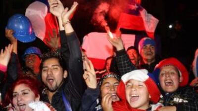 Chile celebró con júbilo rescate de mineros