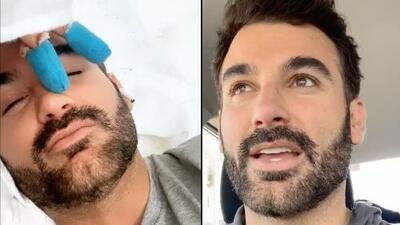 Tras casi 'rebanarse' los dedos, Mauricio Mejía revela el triste motivo por el que se ausentó de redes sociales